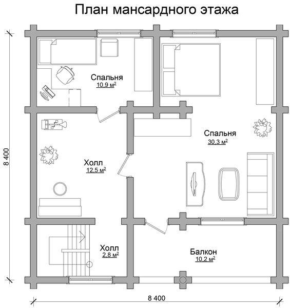 Заказать проект крыши индивидуального дома